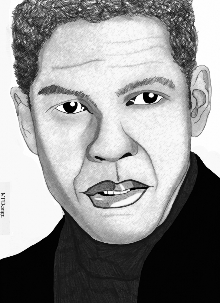 Denzel Washington by merytamon
